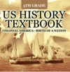 5th Grade US History Textbook Colonial America - Birth Of A Nation