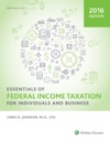 Essentials Of Federal Income Taxation For Individuals And Business 2016
