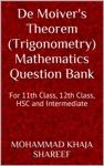 De Moivers Theorem Trigonometry Mathematics Question Bank