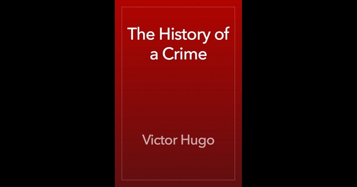 the story of a crime
