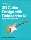 3d Guitar Design With Rhinoceros 5