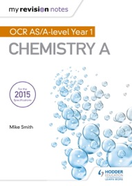 DOWNLOAD OF MY REVISION NOTES: OCR AS CHEMISTRY A SECOND EDITION PDF EBOOK