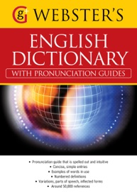 WEBSTERS AMERICAN ENGLISH DICTIONARY (WITH PRONUNCIATION GUIDES)
