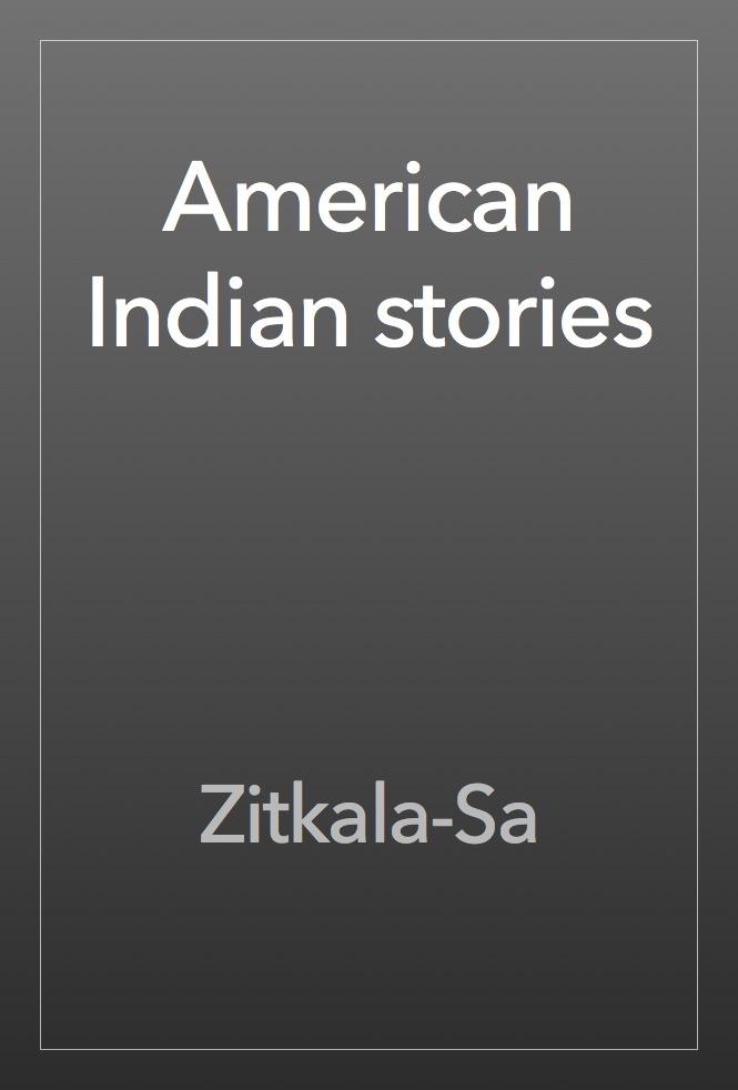 "why am i pagan by zitkala sa Matching family tree profiles for gertrude zitkala sa bonnin ""why i am a pagan"" zitkala-sha, yankton nokota."