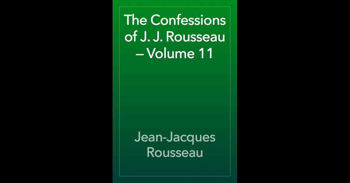 an analysis of confessions an autobiographical book by jean jacques rousseau Widely regarded as the first modern autobiography, the confessions is an astonishing work of acute psychological insight jean-jacques rousseau (1712-78.