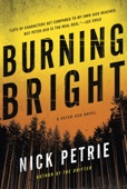 Burning Bright - Nick Petrie Cover Art
