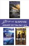 Harlequin Love Inspired Suspense January 2017 - Box Set 1 Of 2