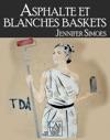 Asphalte Et Blanches Baskets Extrait Gratuit