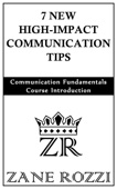7 New High-Impact Communication Tips: Communication Fundamentals Course Introduction