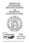 2016 Missouri Standard Specifications For Highway Construction