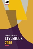 The Associated Press Stylebook 2016 - The Associated Press Cover Art