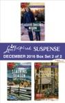 Harlequin Love Inspired Suspense December 2016 - Box Set 2 Of 2