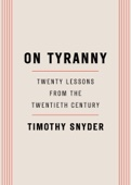 On Tyranny - Timothy Snyder Cover Art