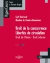 Droit De La Concurrence - Liberts De Circulation Droit De LUnion - Droit Interne