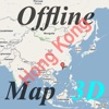 3D Offline Map Hong Kong