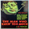 """appMovie """"The Man Who Knew Too Much""""- Alfred Hitchcock Classic"""