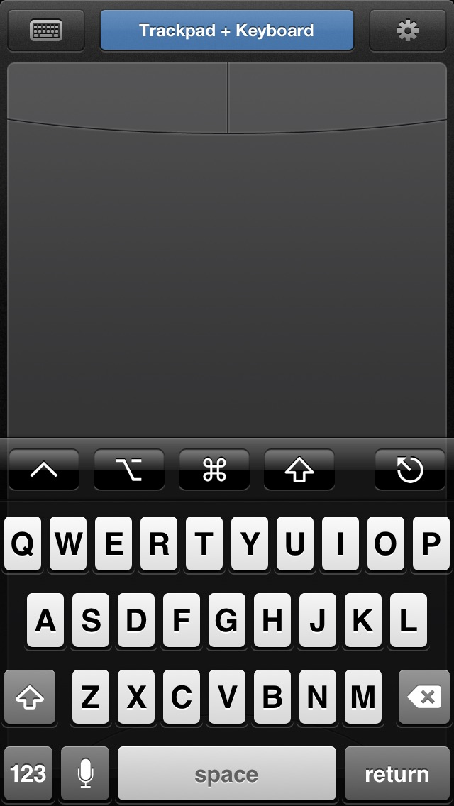 Screenshots of HippoRemote LITE ~ Wireless Keyboard, Mouse & Remote Control for iPhone