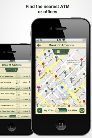 Cards On Palm : Credit Cards Wallet & ATM Finder screenshot 3