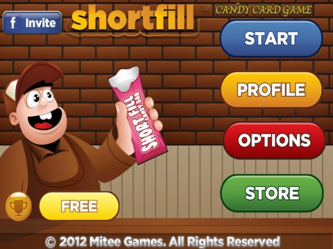 Screenshot #2 for short fill candy card game