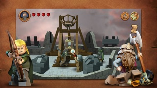 Screenshots of LEGO® The Lord of the Rings™ for iPhone