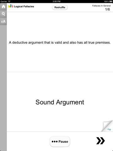 Introduction to Logical Fallacies screenshot 4
