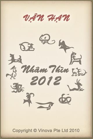 Vận hạn Nhâm Thìn 2012 screenshot 1