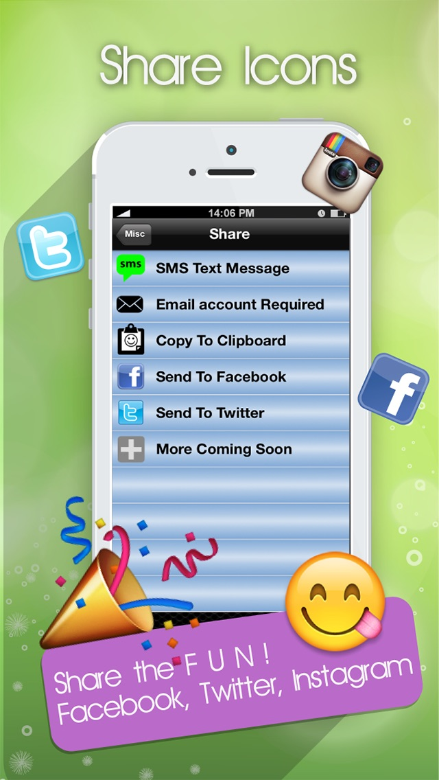 Emoji Emoticons Art Pro For Ios 7 New Smiley Symbols Icons For