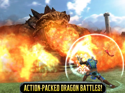 Screenshots of Dragon Slayer™ for iPad