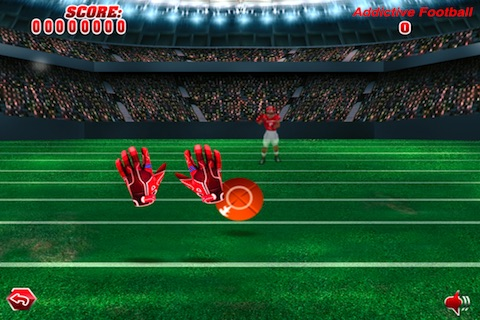 Football Catch Lite screenshot 1