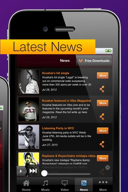 Krushai - New Hip Hop Artist by Blazin Multimedia, LLC