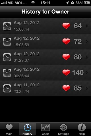 HeartBeat Pro - Heart Rate Monitor screenshot 3