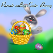 Parents Calling Easter Bunny icon