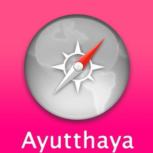 大城自由行地图 (Ayutthaya)