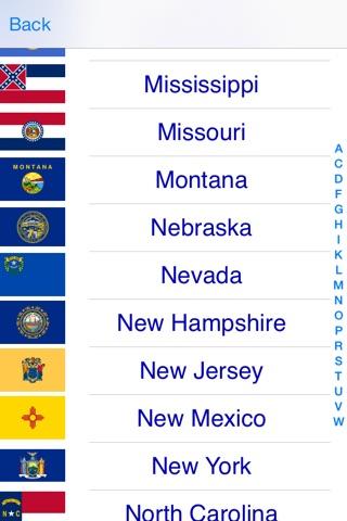 U.S. States Free screenshot 4