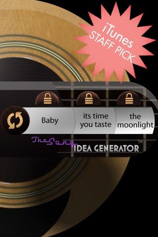 Song Idea Generator screenshot 1