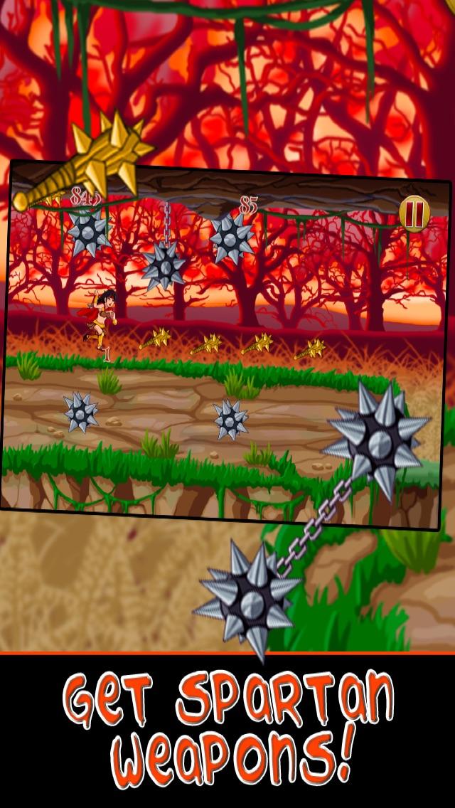 Спартанские войны Run Битва бессмертных воинов Империи - бесплатно для iPhone и издание IpadСкриншоты 4