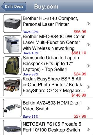 Daily Deals screenshot 1