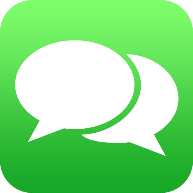 Red Messages Icon Mac