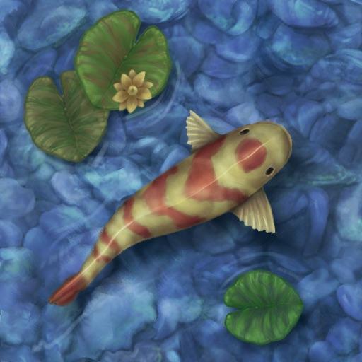 Koi pond par brandon bogle for Virtual koi fish pond