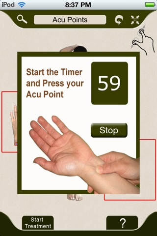 AcuPressure: Visually Interactive Self Treatment screenshot 3