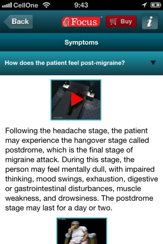 Migraine FAQ screenshot 3