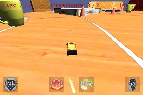 MicroKart screenshot 3