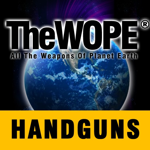 TheWOPE The Weapons of Planet Earth Handguns Edition iOS App
