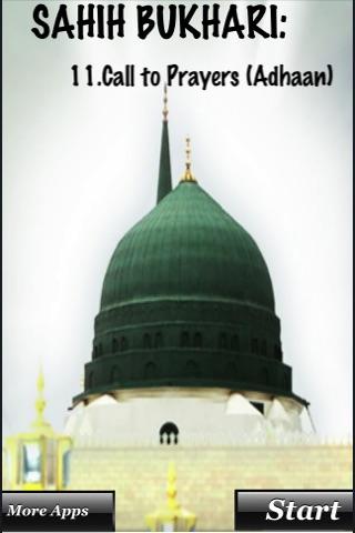 Sayings on Adhaan(Call for Prayer) screenshot 1