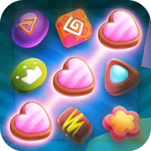 Candy Treasure Quest - Hidden Paradise Puzzle For Kids And Adults FREE Icon