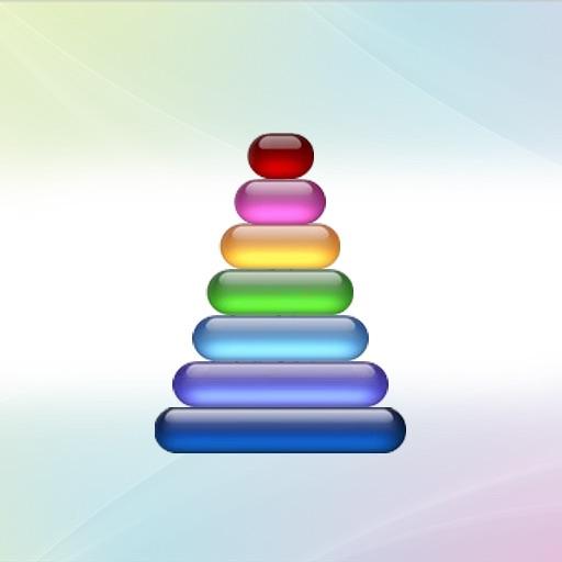 Tower of hanoi !! iOS App