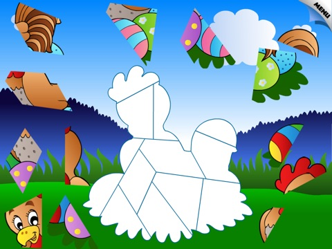 Abby - Spring Shape Puzzle For Toddler and Preschool screenshot 3