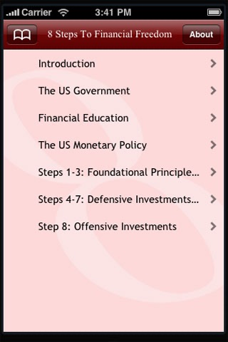 8 Steps To Financial Freedom screenshot 3