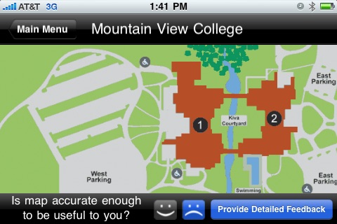 Aacc Main Campus Map.Unofficial Dcccd Campus Maps By Metroplexweb Com