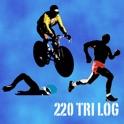 220 TriLog - for iPad (Triathlon Training Tracker) icon